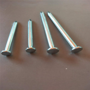 factory cheap price all sizes of galvanized concrete steel nail