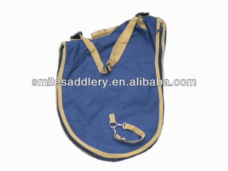 600D PVC Saddle Bag