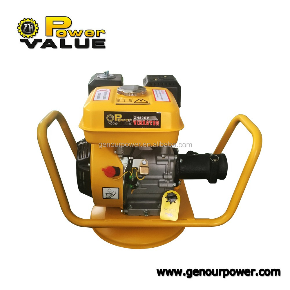 Japan Type 5.5HP Portable Gasoline Concrete Vibrator GX160 Engine