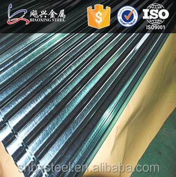 Corrugated Sheet Metal Roofing Shingles Used Building Materials