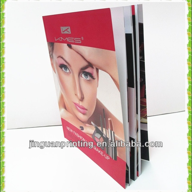A4 luxury cosmetic catalogue printing