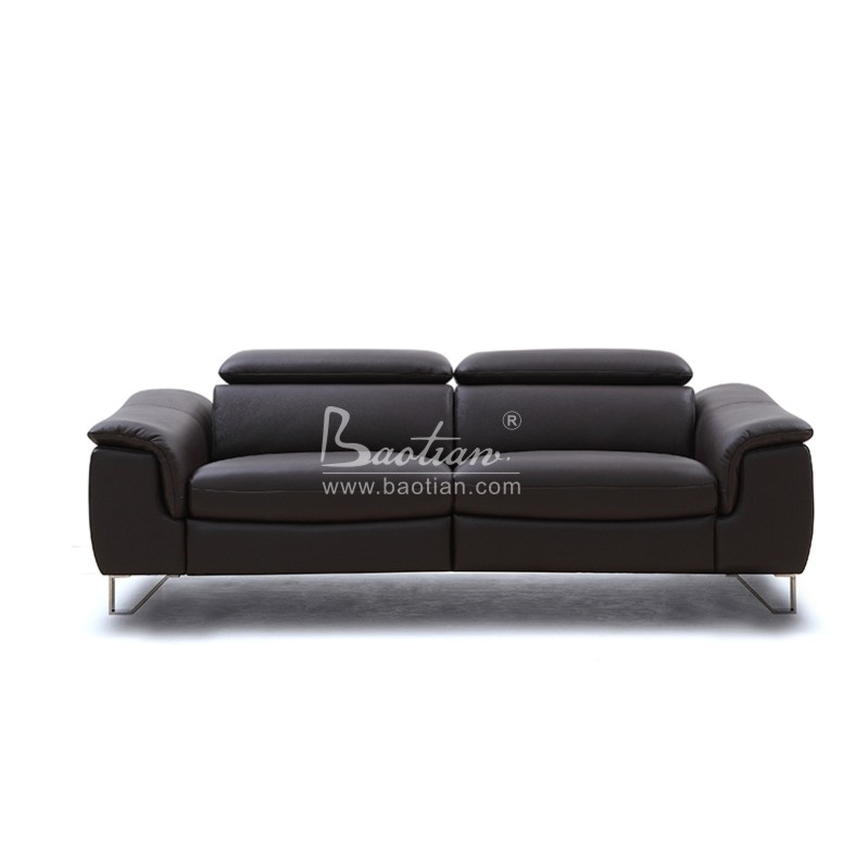 Home Furniture General Used Modern Leather Sofa , Motional Recliner Sofa