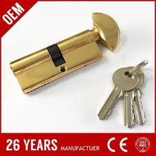 most popular zinc alloy iron key digital locker lock with high quality