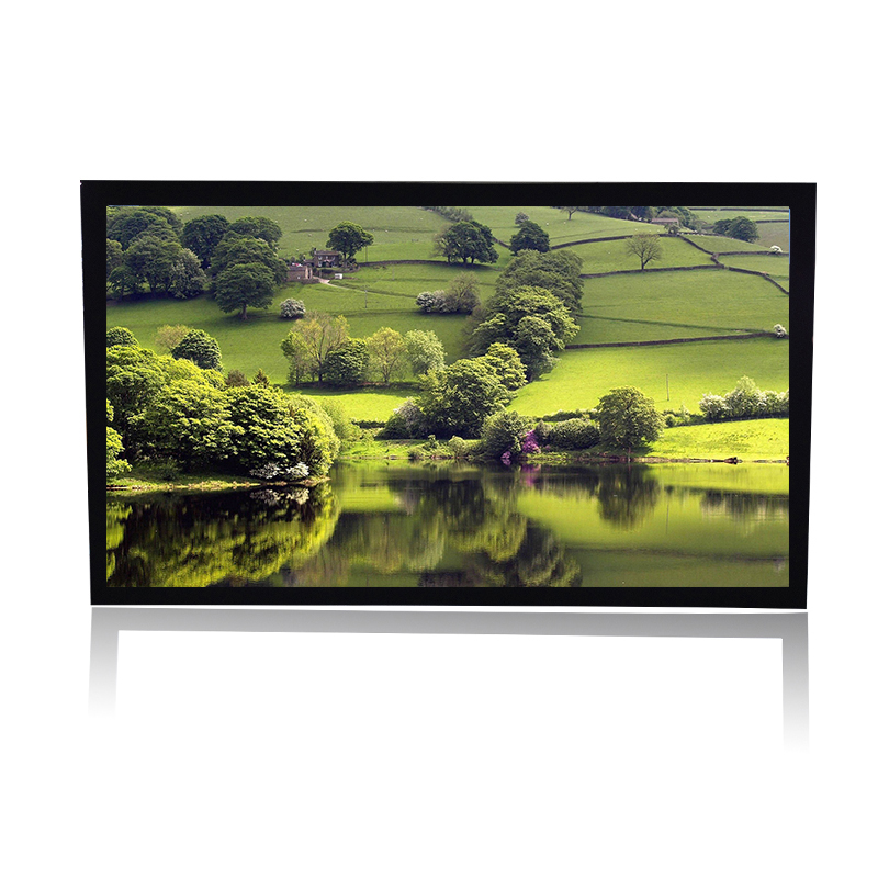 "150"" matte white fixed frame projector screen"