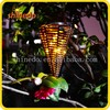 Garden Decorative Warm White 10 led String Solar Rattan Light