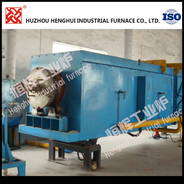 Customized 320KW Lithium battery cathode material rotary furnace with heating system