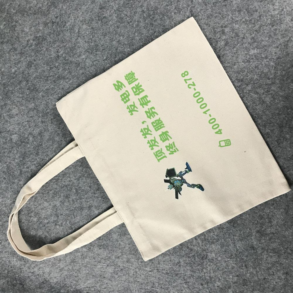 custom canvas printing high quality tote bag