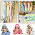 Hot sales Hooded Toweling baby Blankets