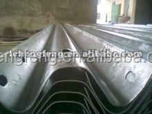 Cold rolled galvanized W beams for Highway Guardrail