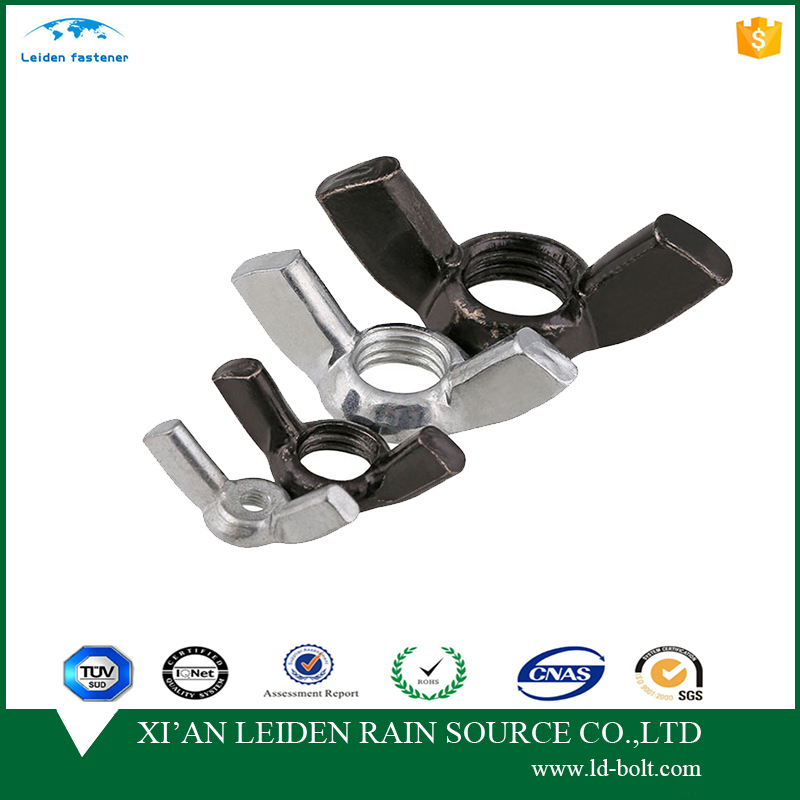 a2-70/a4-80/hdg/zinc oxide/metal clips fasteners lock wing nut