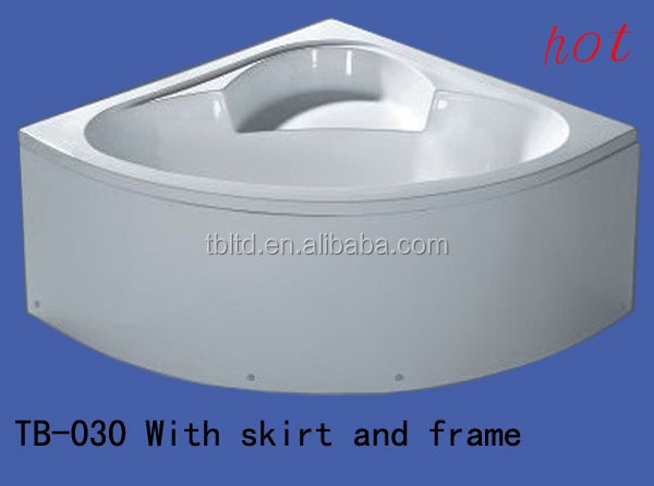supplier sell cast iron enamel corner bathtub/manufacturer sell cast-iron bath