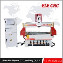 ELE1212 cnc router for carpenter engraving/wood craft design making machine with 3.0kw Italy HSD air cooling spindle