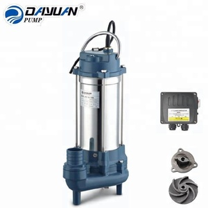 Stable quality v750 series sewage submersible water pump with cutter