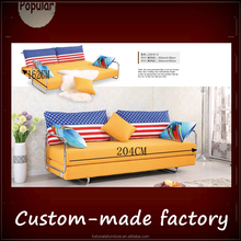 china factory easily adjustable metal base futon sofa bed/sweet comfortable home living room reest sofa couch