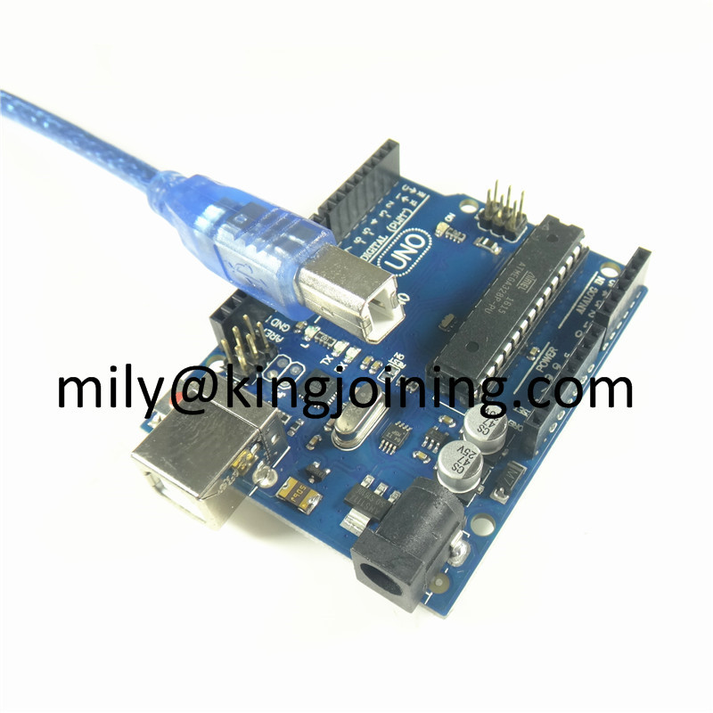 Factory price Compatible USB cable development Uno R3 atmega328p board atmega328 pu for Arduinos