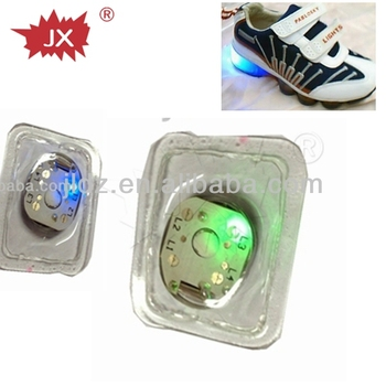 Waterproof custom led blinking module for clothes,shoes,jar,promotional products