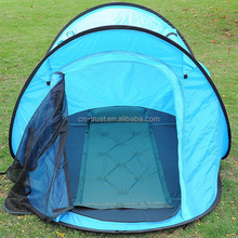 Blue Automatic Pop Up Carp Fishing Boat Tent For Sale