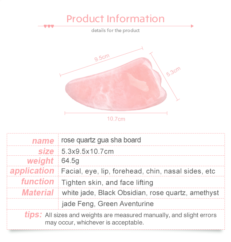 2020 New Arrival Popular Custom Face Slimming Massage Amethyst Gua Sha Tool