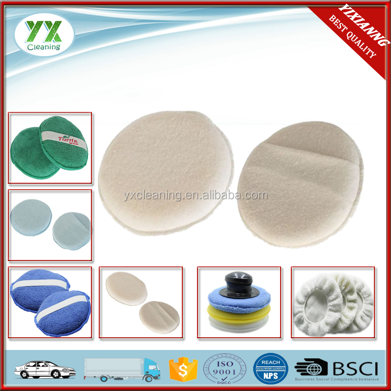 MADE IN CHINA Auto Cotton Wax Applicator Pad