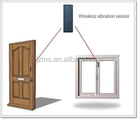 Wireless Remote Control Vibration Sensor Security Alarm Cheap Price for Window Door Car Motor Bike