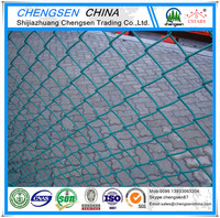 home decorate temporary fence panels pvc coating chain link fence