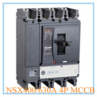 Moulded Case type and 4 poles number MCCB 630amp NSX circuit breaker