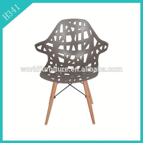 Colorful ! cheap modern PP ABS designer outdoor plastic dining chairs for sale