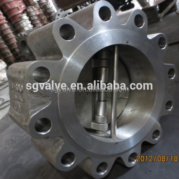 ANSI DUAL PLATE WAFER TYPE CHECK VALVE