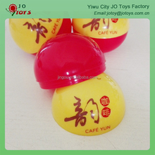 Cheap gift items empty capsule ball, plastic empty capsules