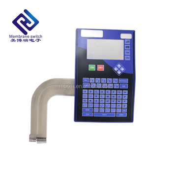 Smart Backlight Keypad For Industrial Electric Membrane Keyboard