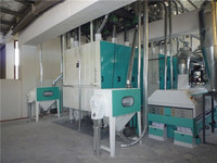 Large scale corn flour milling machine/ maize milling machines