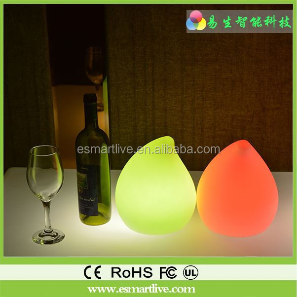 Swimming pool floating ball lighting lamp LED furniture Garden landscape globe Anti-throw rotomolding magic lights