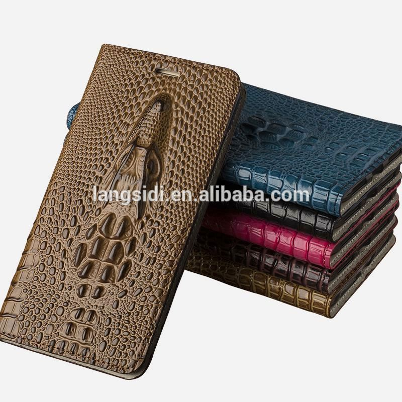 Wholesale Factory Genuine Leather Case For Blackberry Z10 3D Luxury Silicone Holster Cow Wallet Flip Cover