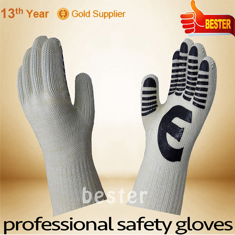 Zhongshan factory Best Selling heat resistant safety gloves company