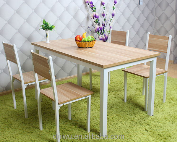 Home used dining room furniture modern white dining set