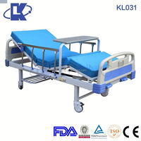 CE ISO FDA 3 function hospital bed for paralyzed patient antique iron hospital beds