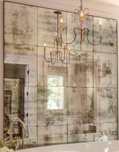 subway tiles backsplash antique mirror glass
