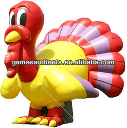 inflatable turkey balloon with lower price F1027