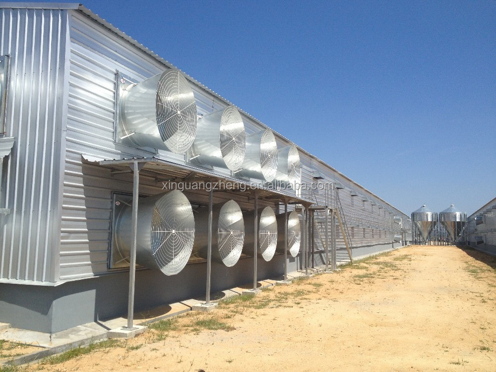 construction low price high quality poultry farm types of poultry house