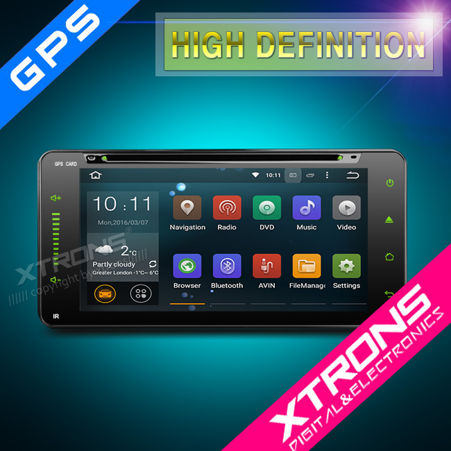 "Xtrons PF75HGTA 7"" android 5.1 Vehicle audio for toyota Tundra (2003 - 2006) with GPS Bluetooth Wifi 3G OBD DVR"