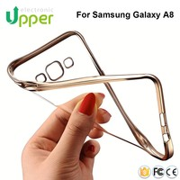 Made in China unbreakable aluminum frame clear ultra thin cover phone case for samsung galaxy s4 mini s6 edge plus j7 j1