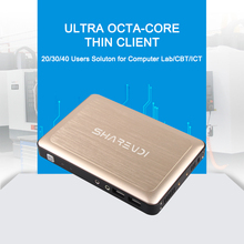 Thin client computer nc120 with support VMware and printer mini cloud computer