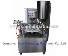 KIS-900 liquid filling rotary ice cream filling machine
