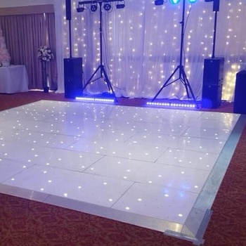 Guangzhou portable wireless acrylic led wedding dance floor
