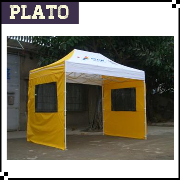 3X3M Aluminum Popup Heavy Duty Tent Industrial Marquee Gazebo Folding Market Canopy Plastic Car Parking Carport Gazebo Tent