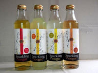 Japan products drinkable vinegar cider , apple , black , yuzu , lemon