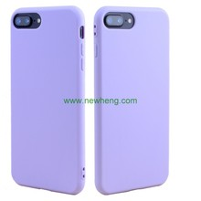 Wholesale Candy Color Frosted Matte Soft Tpu Back Cover Case For iPhone 8 Plus