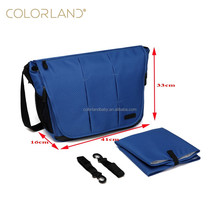 Colorland New Arrivel Daddy Mummy Bag Messenger with Long Padded Shoulder Strap