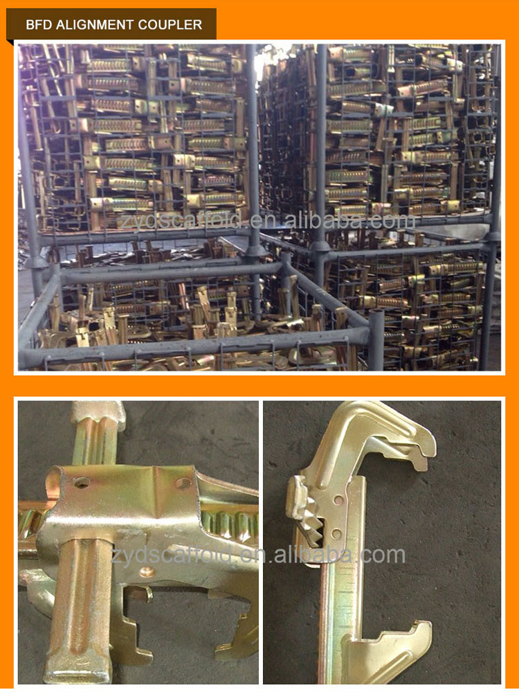Galvanized BFD Formwork Peri Clamp Coupler