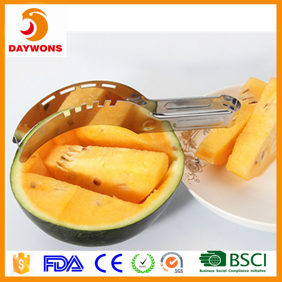 Stainless steel watermelon Melon Slicer Knife fruit slicer